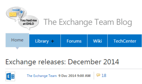 Microsoft Patch Tuesday Exchange server 2