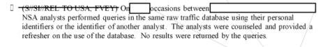 NSA reports