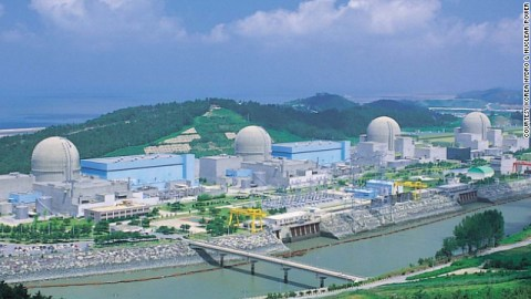 nuclear plant south Korea