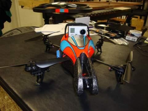 Parrot AR Drone 2 maldrone