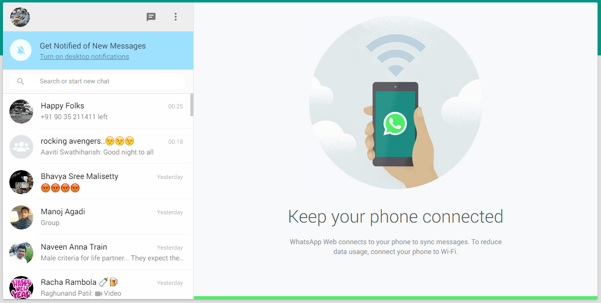 WhatsApp Web and Mobile App affected by privacy issues