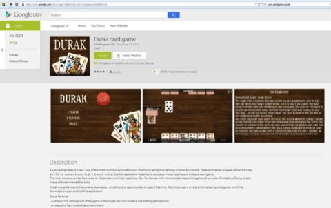 Durak-game-GP adware