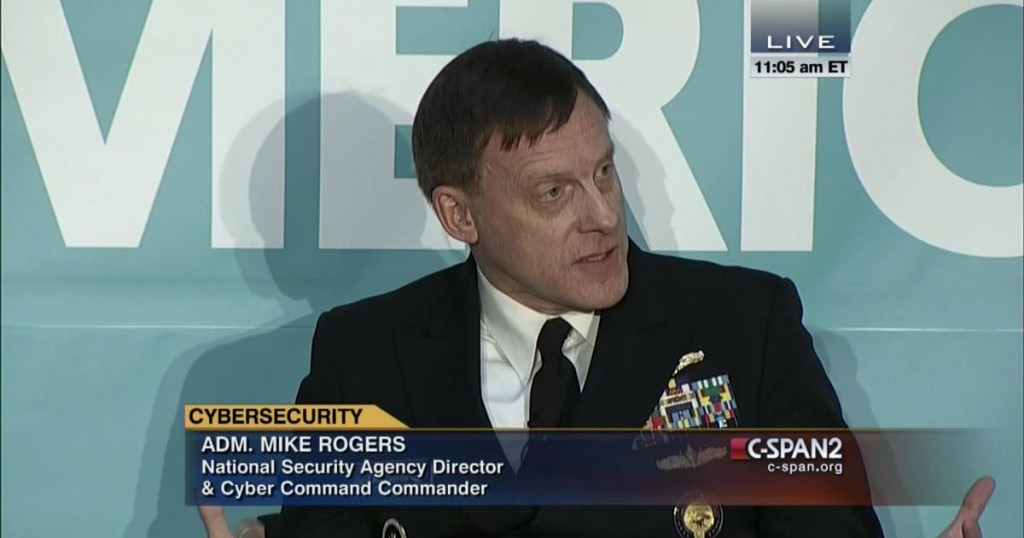 Admiral Mike Rogers