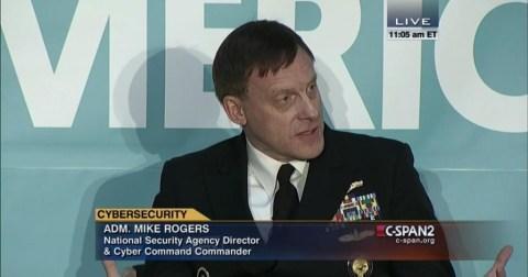 NSA director Rogers