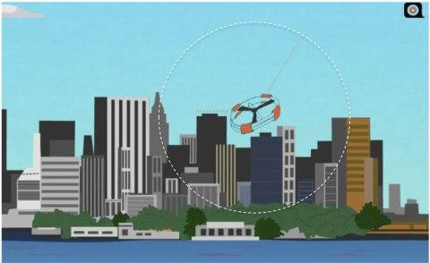 drones adnear advertizing