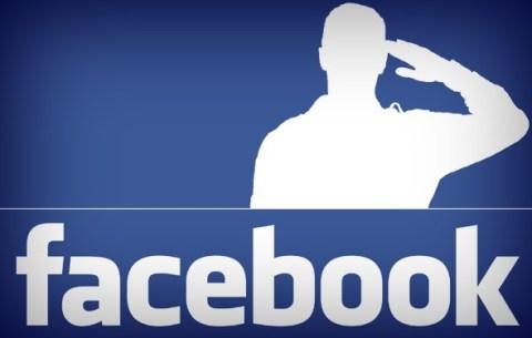 facebook social media military