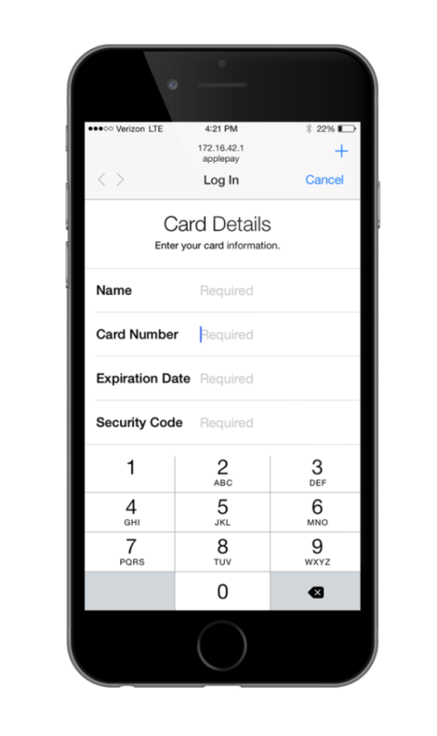 iOS  Apple pay hack