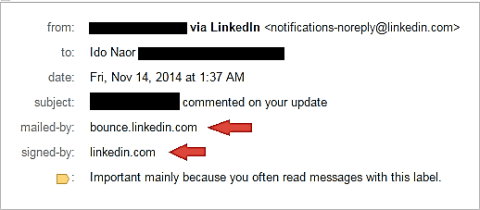 LinkedIn Spear phishing 4