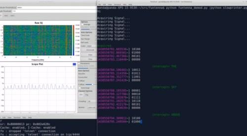 Funtenna steals data sound waves