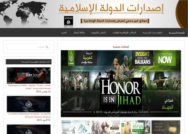 online terrorist propaganda ISIS