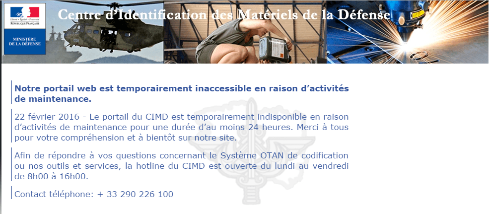 Anonymous hacked french CIMD