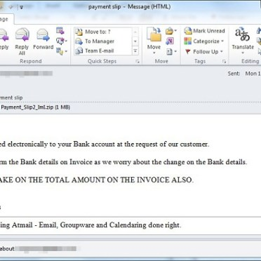 According to TRENDMICRO Business Email Compromise (BEC