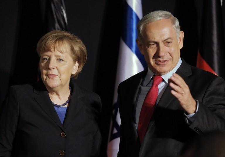 Merkel Netanyahu German Intelligence BND