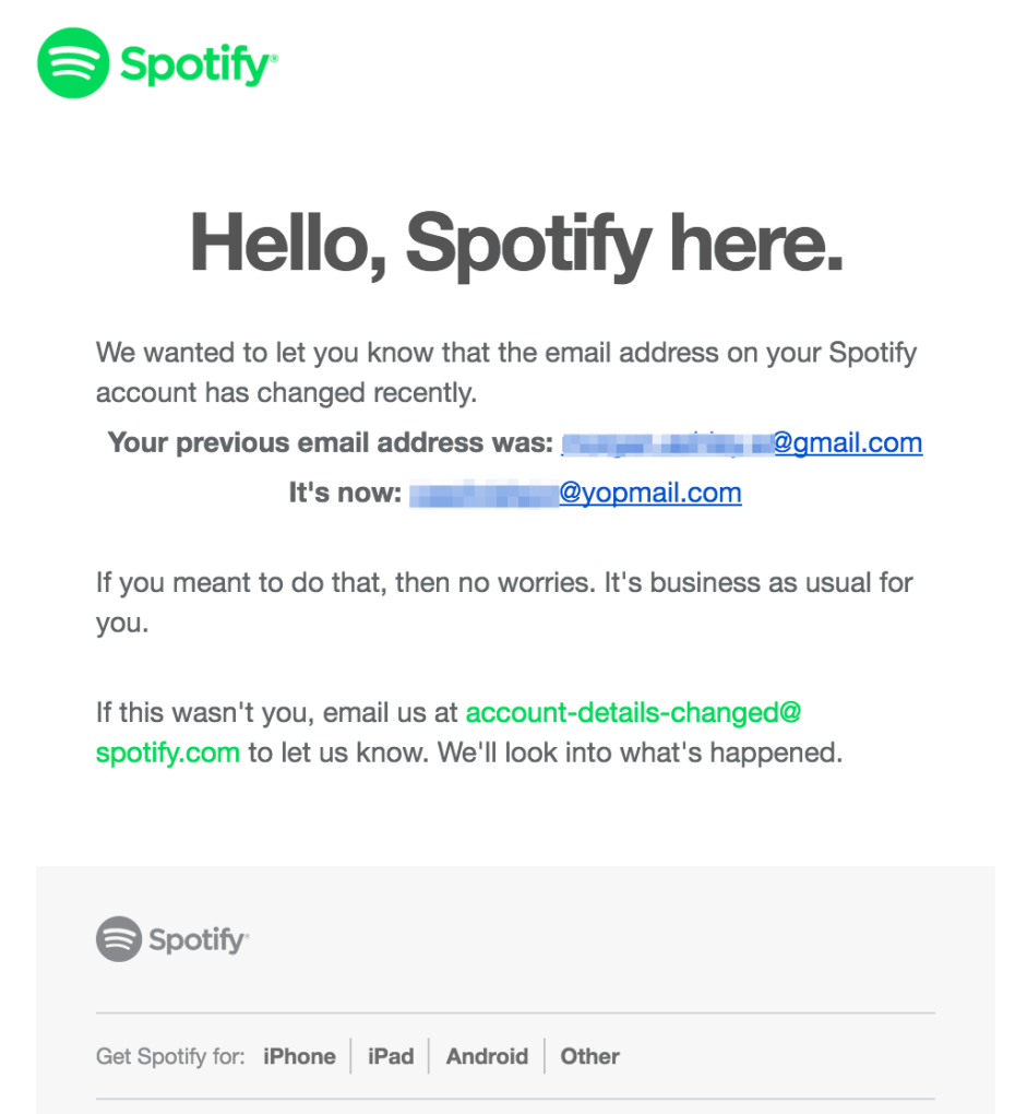 - Affairssecurity Email Changed Security Affairs Spotify