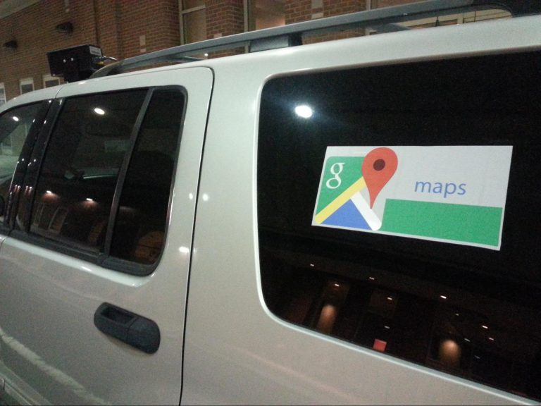 Police SUV camuflaged as Google Streetview vehicle - Image Dustin Slaughter
