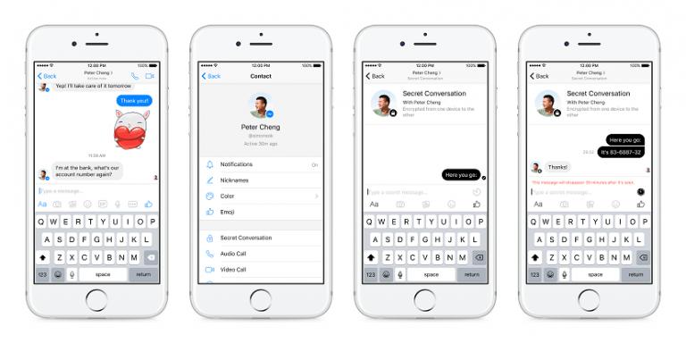 Messenger end-to-end encryption