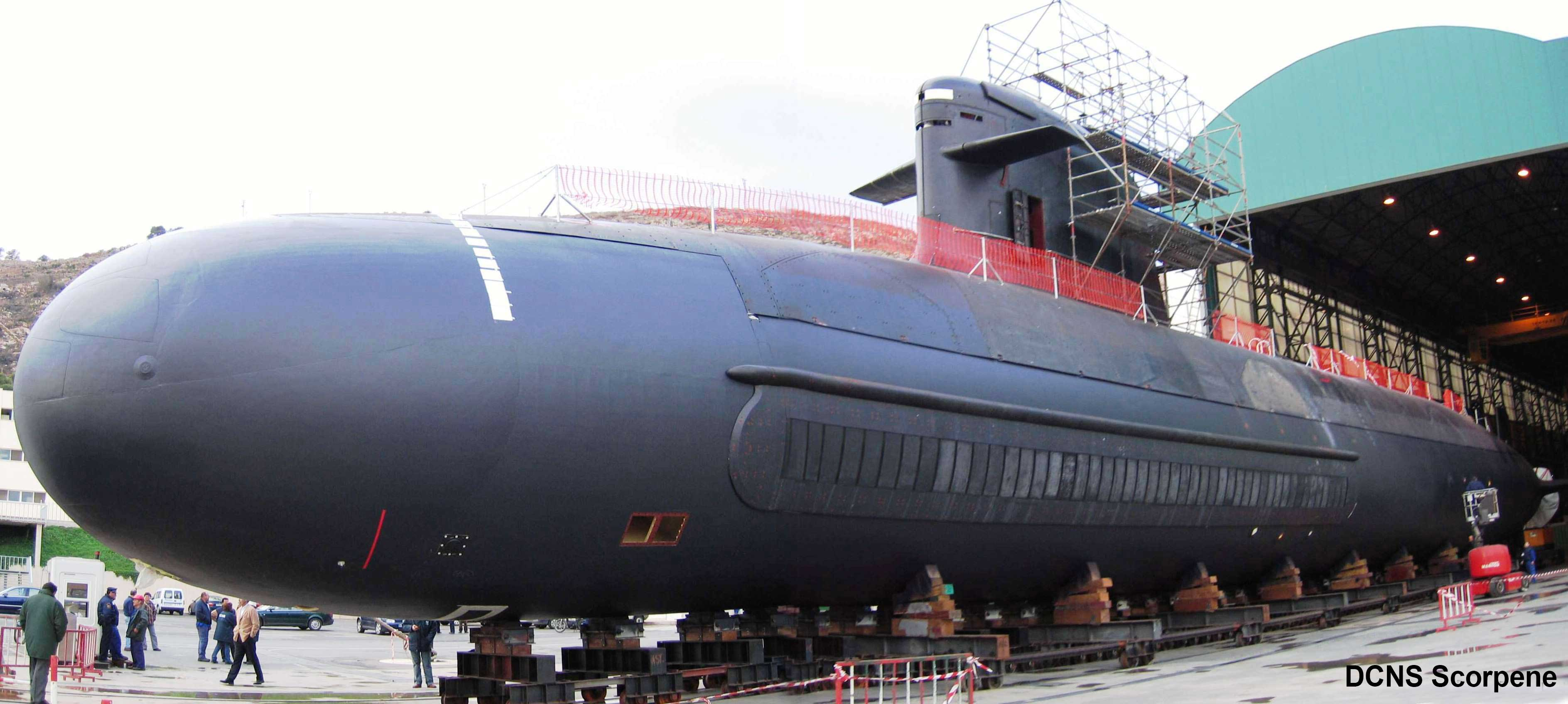 DCNS Scorpene submarines