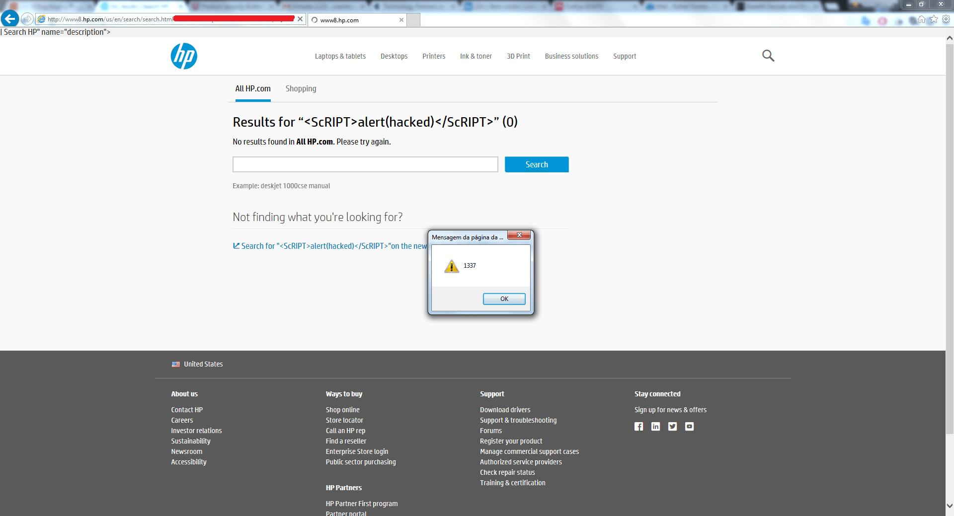 HP responsible disclosure 2