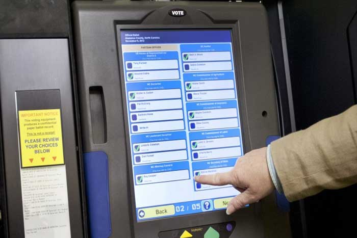 hacking voting machines