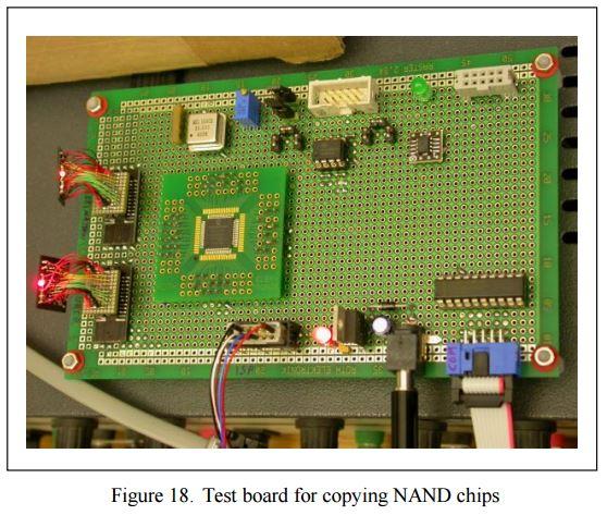 NAND mirroring board