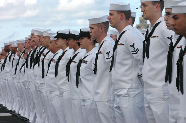 United States Navy sailors-leaked
