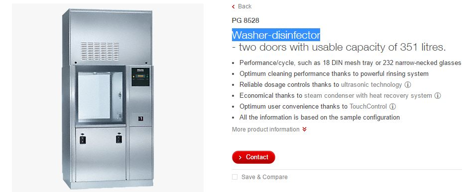 washer-disinfector