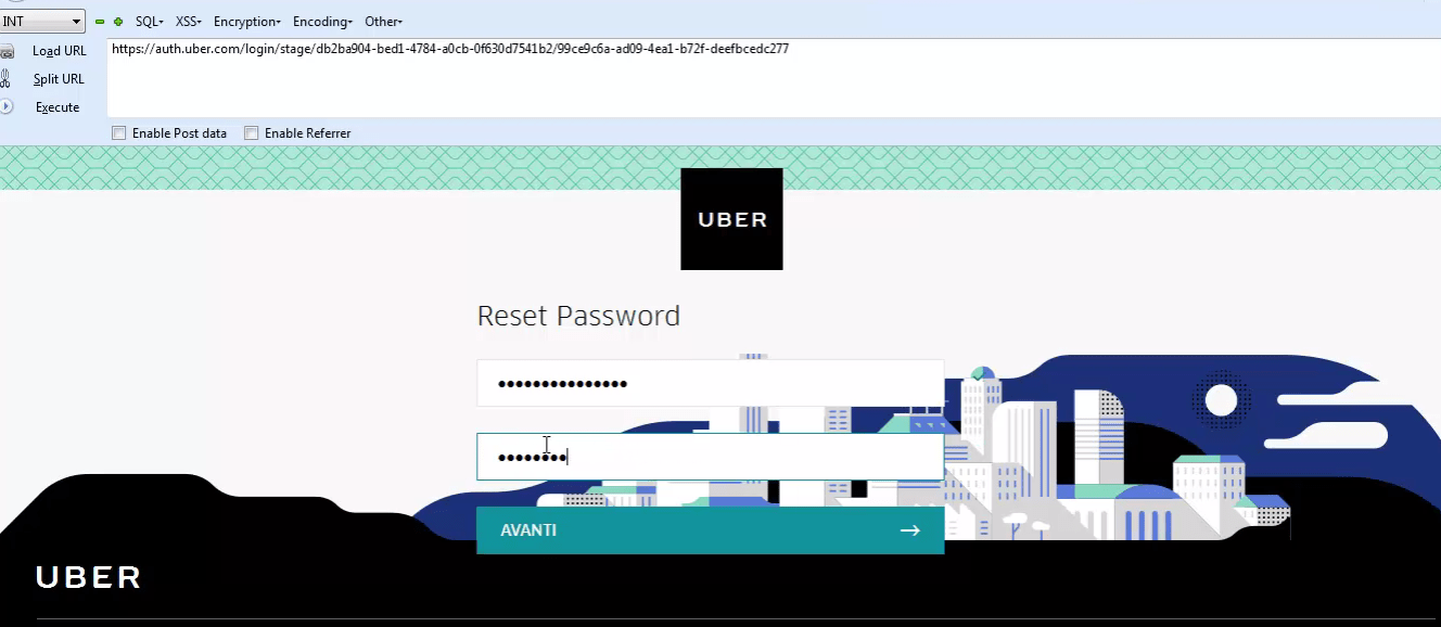 UBER Improper Authentication flaw