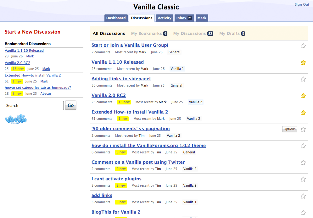 Vanilla Forums software is still affected by a critical remote code