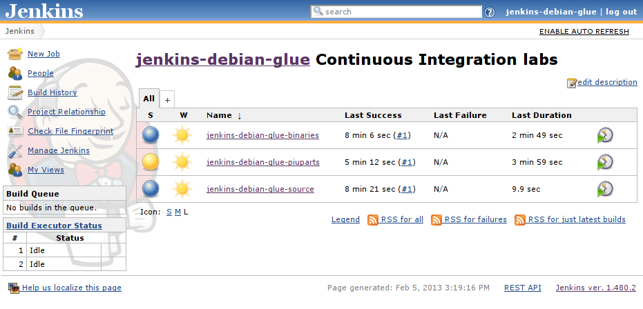 Jenkins open source automation server