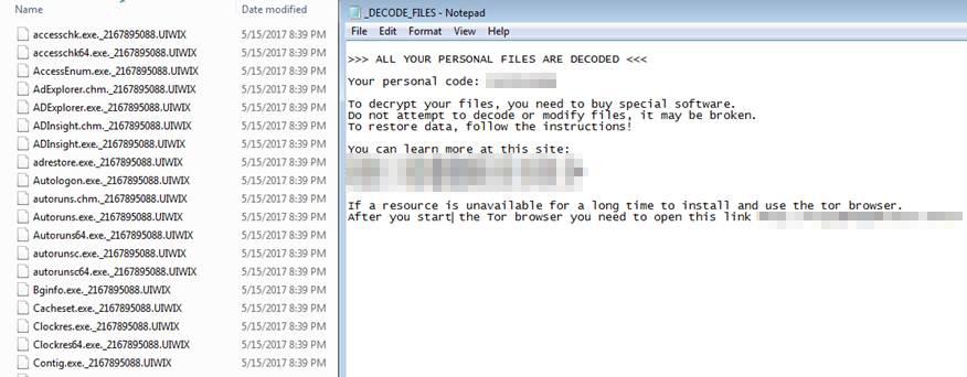 UIWIX malware
