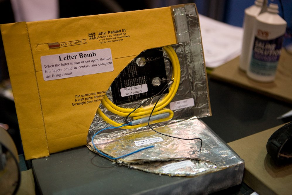 Image result for mail bomb