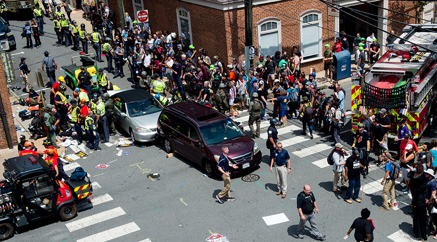 """The hacktivist collectiveAnonymous launched the OpDomesticTerrorism and claimed responsibility for carrying out a DDoS attack on the official website ofCharlottesville city Virginia. The website went offline under the prolonged attack that was powered in the wake of the incident in whichmany protesters were hit while protesting against therally organized by a group of whitesupremacists. Image Credit:DailyProgress The video of the incident was recorded byBrennan Gilmore who tweeted that """"Video of car hitting anti-racist protestors. Let there be no confusion: this was deliberate terrorism. My prayers with victims. Stay home.""""   Follow Brennan Gilmore@brennanmgilmore Video of car hitting anti-racist protestors. Let there be no confusion: this was deliberate terrorism. My prayers with victims. Stay home. 8:13 PM - Aug 12, 2017  3,8933,893 Replies   86,24186,241 Retweets   94,26394,263 likes Twitter Ads info and privacy  The DailyProgressreportedthat mayor of the city Mike Signer has confirmed that one person has died in the incident after a car plowed into a mass of Unite the Right counter-protesters. Soon after the deadly incident, Anonymous hacktivist conducted a series of DDoS attacks on theCharlottesville city website and successfully took it offline.  Follow Anonymous@YourAnonGlobal TangoDownhttp://charlottesville.org#offline#OpDomesticTerrorism#DefendCvillepic.twitter.com/rSriOHONnY 9:23 PM - Aug 12, 2017  44 Replies   4545 Retweets   5555 likes Twitter Ads info and privacy  View image on Twitter  Follow ÐΓξ∀MξΓ8F↑νξ@dreamer8five TangoDownhttp://charlottesville.org#offline#OpDomesticTerrorism#DefendCville 10:08 PM - Aug 12, 2017  11 Reply   22 Retweets   55 likes Twitter Ads info and privacy  Here are a few screenshots showing the site is down. Isitdownrightnow, a platform that keeps an eye on the sites sufferingcyber attack or outage has alsoconfirmedthat the site is down. At the time of publishing this article, the targeted website was down. However, for some us"""