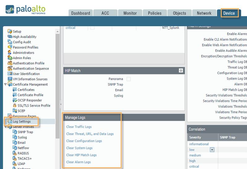 Palo Alto PAN-OS Networks Security Platform