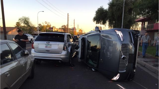 Uber Self-Driving Car accident - Source