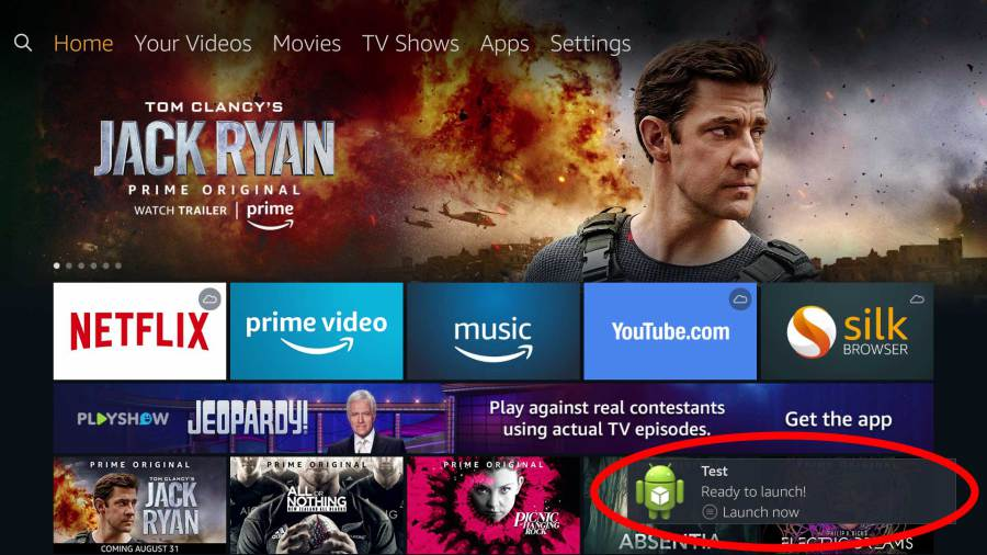 Amazon Fire TV malware