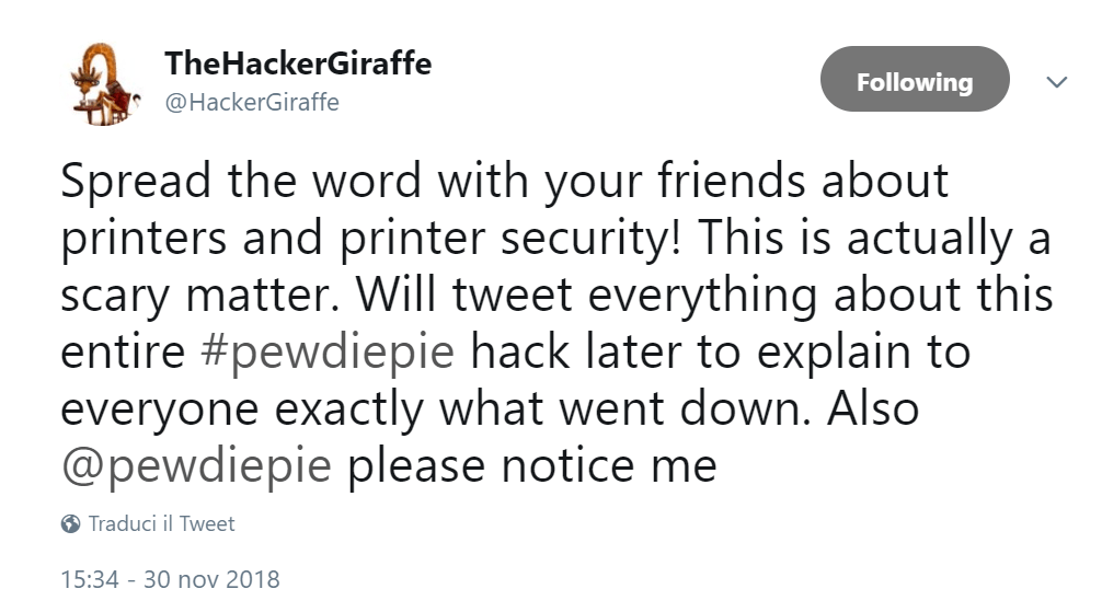 printers hijacking