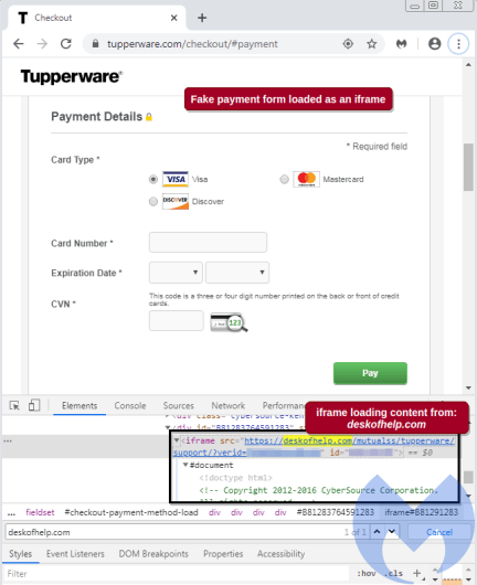 Tupperware payment_form__