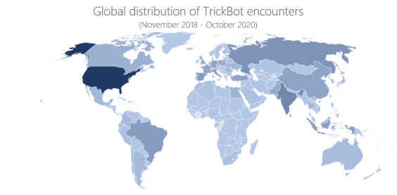 TrickBot operators continue to update their malware to increase resilience to takedown
