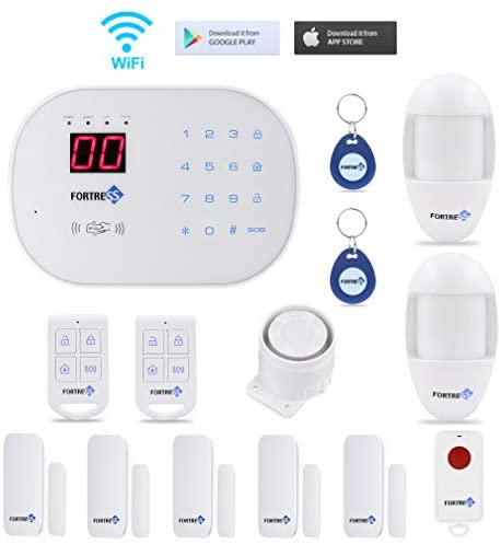 Fortress S03 Wi-Fi Home Security System