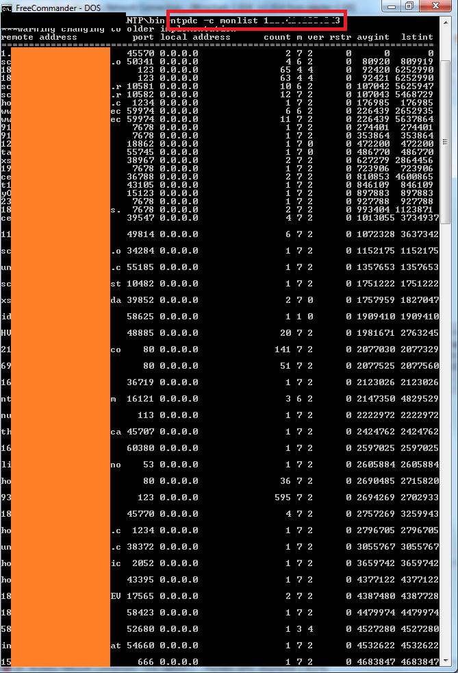 Tấn công DDOS qua NTP