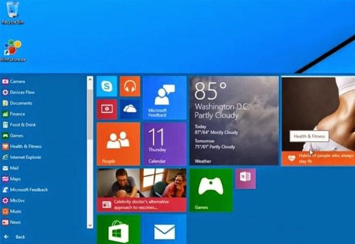 Rò rỉ video thử nghiệm của Windows 9