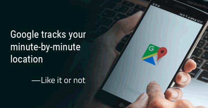 securitydaily Google đang theo dõi vị trí của bạn qua Google Maps