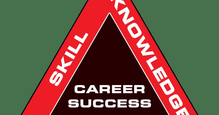 career-success-triangle esk triangle