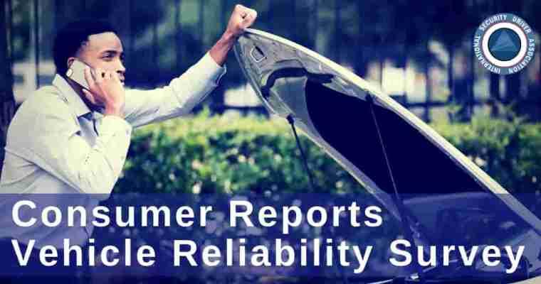 Consumer Reports' Reliability Survey Report