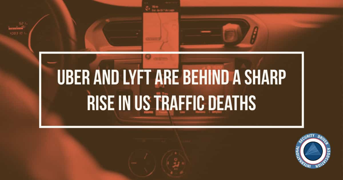 Uber and Lyft are Behind a Sharp Rise in US Traffic Deaths