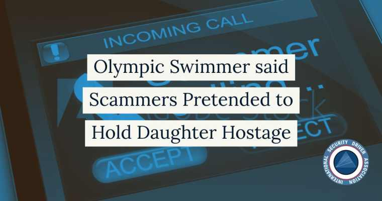 olympic swimmer daughter hostage scam