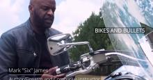 Bikes and Bullets Mark James