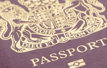 Biometric United Kingdom Passport