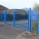 Updating the perimeter security at Blean Primary School